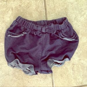 Okie dokie baby girl shorts 12m